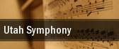 Utah Symphony Abravanel Hall tickets