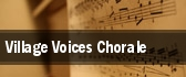 Village Voices Chorale tickets