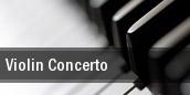 Violin Concerto Bass Performance Hall tickets