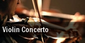Violin Concerto Detroit tickets