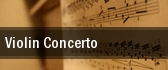 Violin Concerto Devos Hall tickets