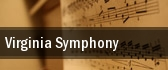 Virginia Symphony Phi Beta Kappa Memorial Hall tickets
