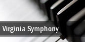 Virginia Symphony Virginia Beach tickets