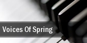 Voices Of Spring Mahaffey Theater At The Progress Energy Center tickets