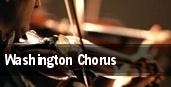 Washington Chorus tickets