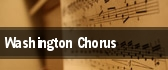 Washington Chorus Washington tickets