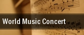 World Music Concert Morgantown tickets