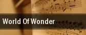 World Of Wonder tickets