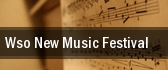 WSO New Music Festival Manitoba Centennial Concert Hall tickets