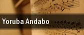 Yoruba Andabo Carnegie Hall tickets