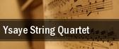 Ysaye String Quartet tickets