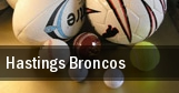 Hastings Broncos tickets