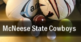 McNeese State Cowboys tickets
