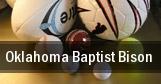 Oklahoma Baptist Bison tickets