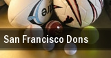 San Francisco Dons tickets
