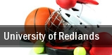 University of Redlands tickets