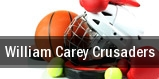 William Carey Crusaders tickets