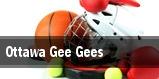 Ottawa Gee Gees  tickets