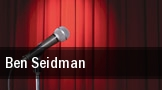 Ben Seidman tickets