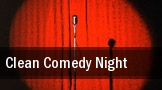 Clean Comedy Night tickets