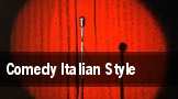 Comedy Italian Style tickets