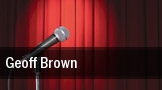 Geoff Brown tickets