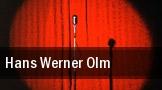 Hans Werner Olm Brandenburg an der Havel tickets