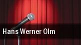 Hans Werner Olm Kulturhaus Salzwedel tickets