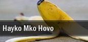 Hayko Mko Hovo Pasadena Civic Auditorium tickets