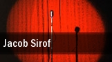 Jacob Sirof San Francisco tickets
