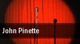 John Pinette Showroom tickets