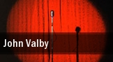 John Valby Westbury tickets