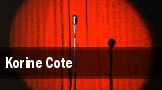 Korine Cote tickets