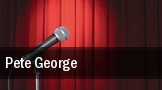 Pete George tickets