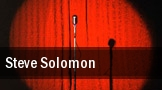 Steve Solomon tickets