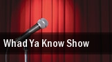 Whad Ya Know Show Tennessee Performing Arts Center tickets