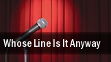 Whose Line Is It Anyway The Flint Center for the Performing Arts tickets