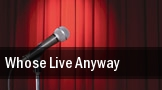 Whose Live Anyway Seattle tickets