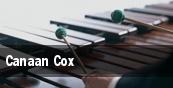Canaan Cox tickets