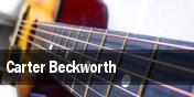 Carter Beckworth tickets