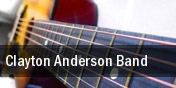Clayton Anderson Band Bluebird Nightclub tickets
