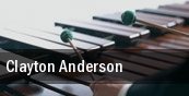 Clayton Anderson Bluebird Nightclub tickets
