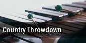 Country Throwdown Davis Park tickets