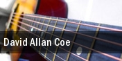 David Allan Coe First Avenue Club tickets