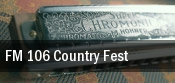 FM 106 Country Fest tickets