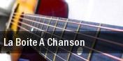 La Boite A Chanson tickets