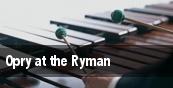 Opry at the Ryman Ryman Auditorium tickets