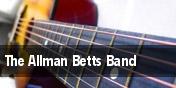 The Allman Betts Band Huntsville tickets