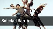 Soledad Barrio Vancouver tickets