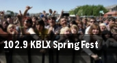 102.9 KBLX Spring Fest tickets